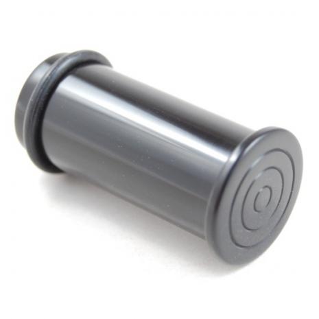 Transscrotal plug polymère